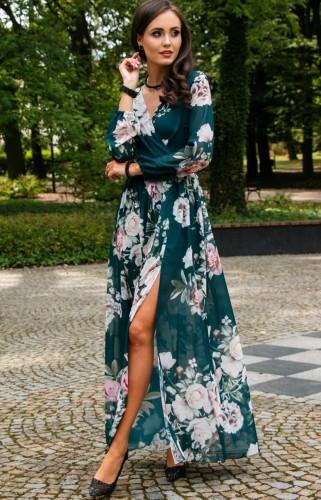 Długie sukienki na każdą okazję Sklep Iblis.pl